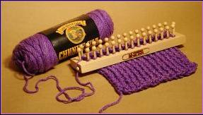 The Old Fashioned Knitting Board